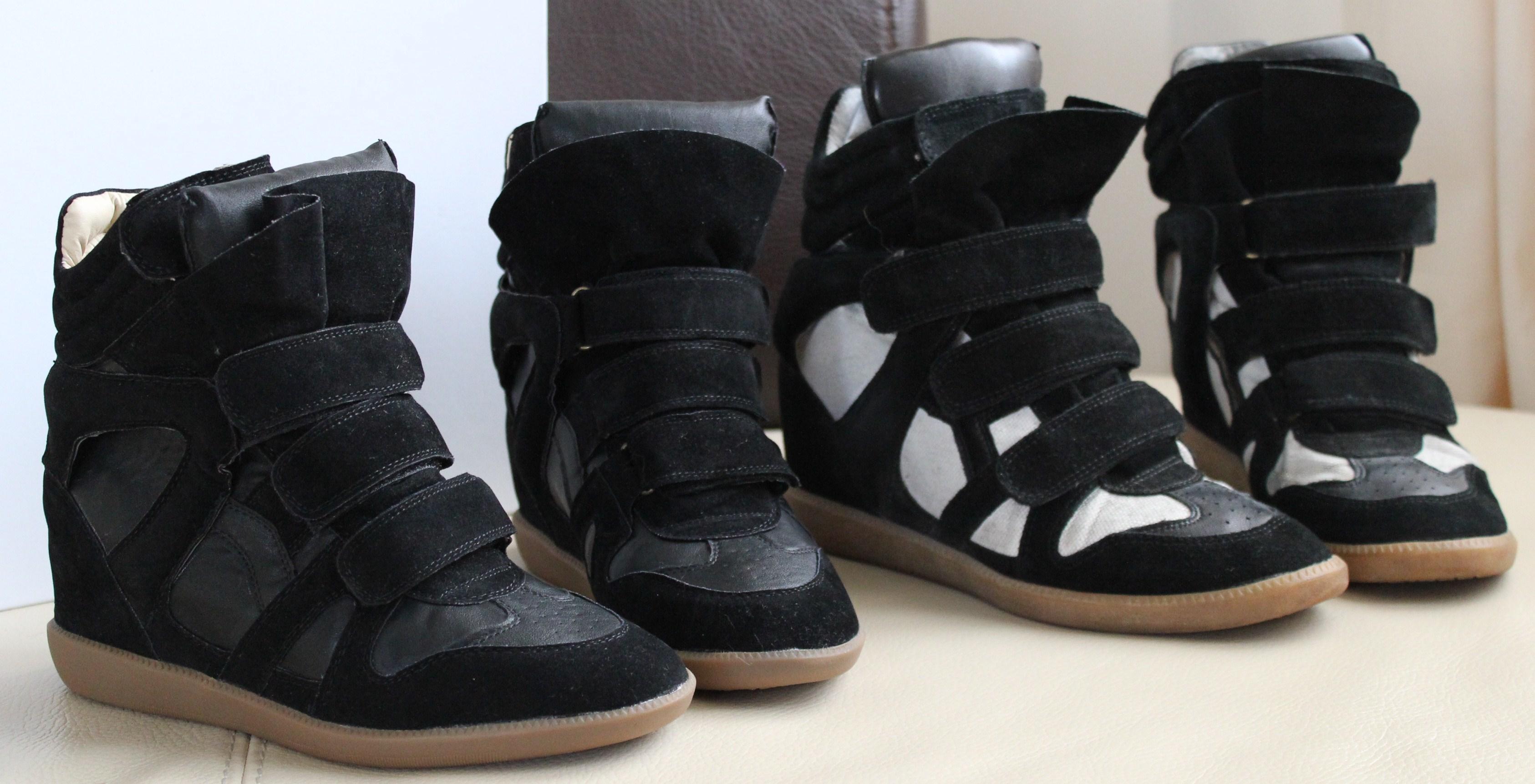 sneakers isabel marant imitation une parenth se mode. Black Bedroom Furniture Sets. Home Design Ideas