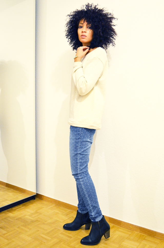 mercredie-blog-mode-beaute-jean-pois-forever21-zalando-1.ch-suisse-boots-zign-zip-pistol-acne-zara2