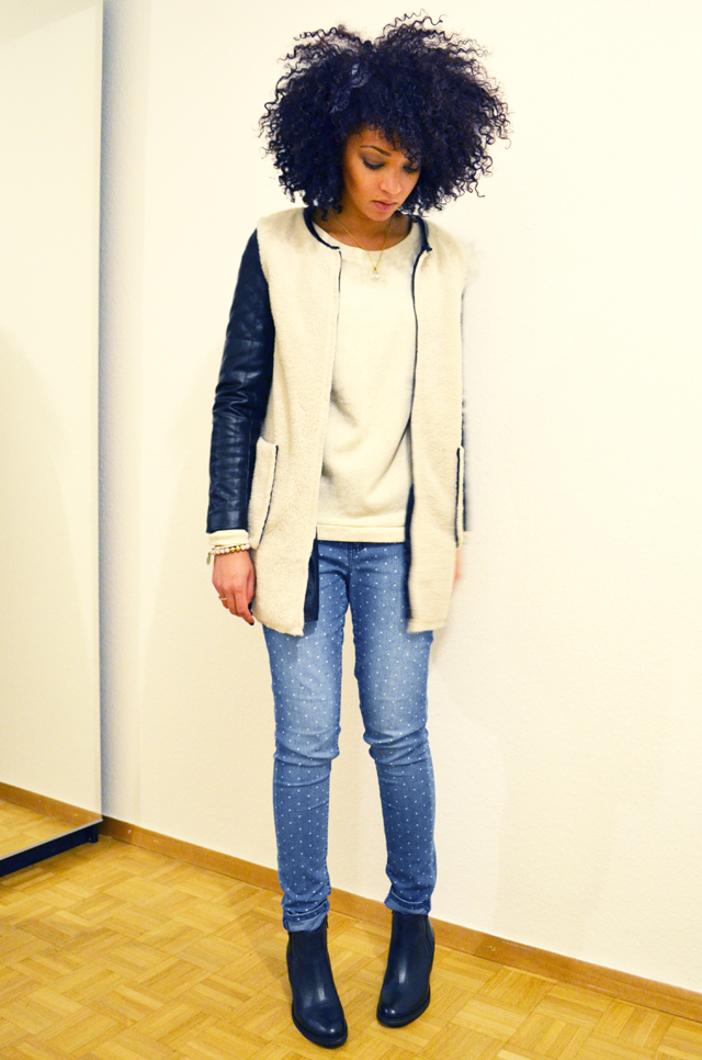mercredie-blog-mode-beaute-jean-pois-forever21-zalando.ch-suisse-boots-zign-zip-pistol-acne-zara-manteau-cuir-bi-matieres-2