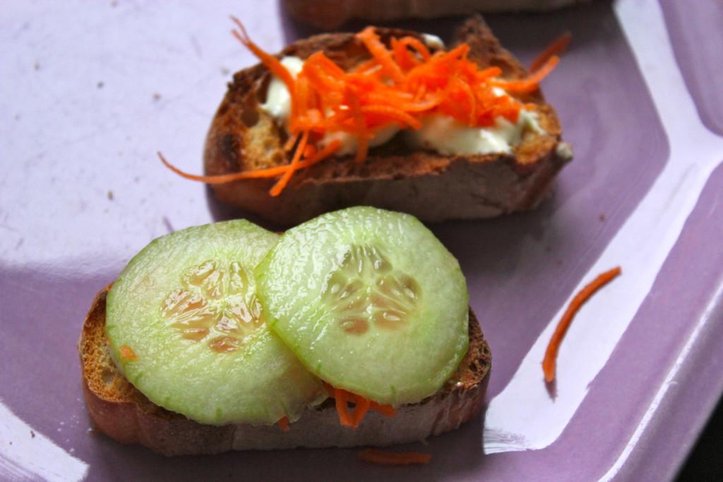 concombres carottes