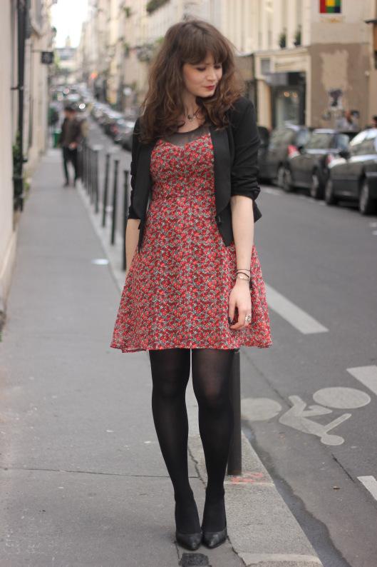 look-robe-fleurie-blazer