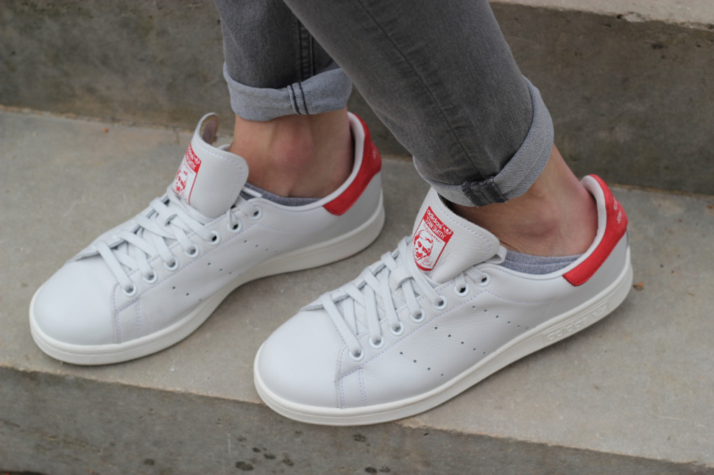 Adidas Stan Smith Rouge Porté